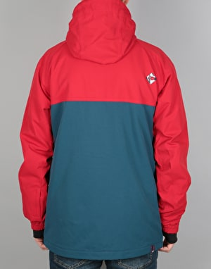 Bonfire Wakeena 2017 Snowboard Jacket - Flame Red