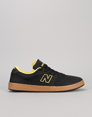 New Balance Numeric 598 Skate Shoes - Black/Gum