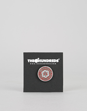 The Hundreds 2 Tone Pin - Red