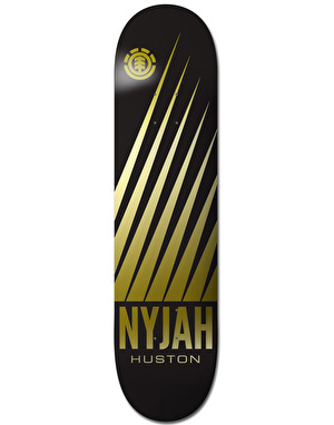 Element Nyjah Gold Featherlight Pro Deck - 8.25