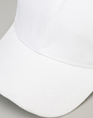Route One Blank Baseball Cap - White