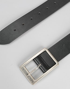 Independent Solid Belt - Black