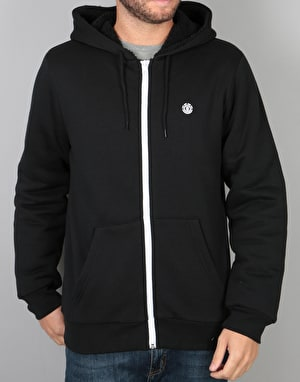 Element Bolton Sherpa Zip Hoodie - Flint Black