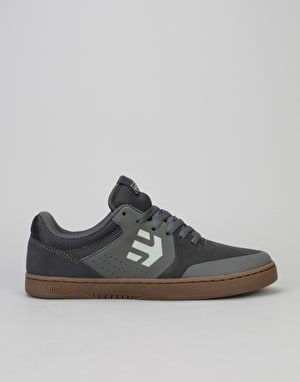 Etnies Marana Skate Shoes - Grey/White/Gum