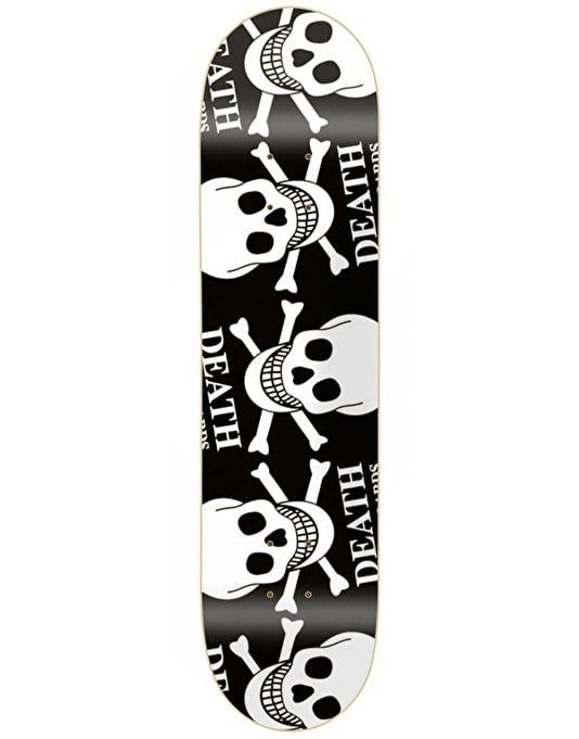 Death Alternate Skulls Skateboard Deck - 8.4""