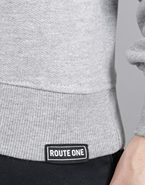 Route One Essentials Sweatshirt - Heather Grey