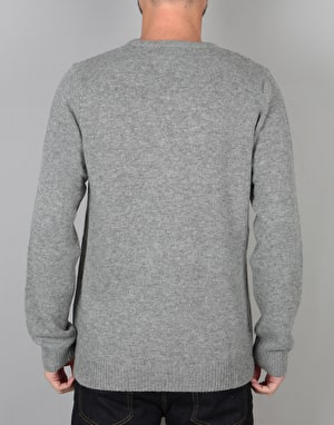 Carhartt Allen Sweater Knit - Grey Heather