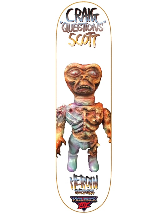 Heroin Questions Violence Toy Pro Deck - 8.44""