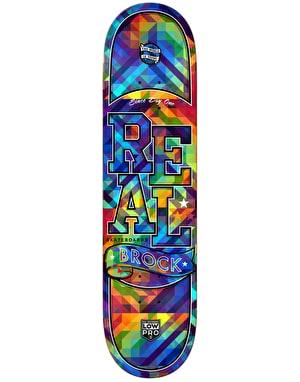 Real Brock Bug Vision Low Pro II Pro Deck - 8.25