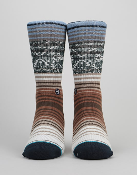 Stance Cortez Athletic Crew Socks - Silver