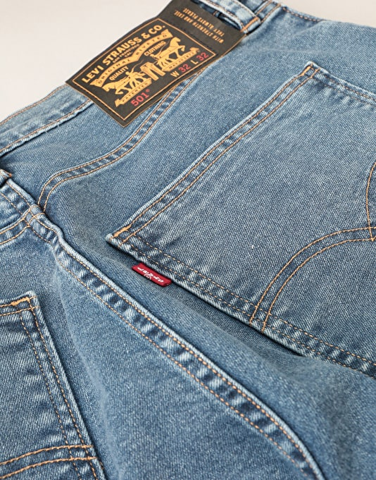 Levi's Skateboarding 501 Original Denim Jeans - Wallenburg