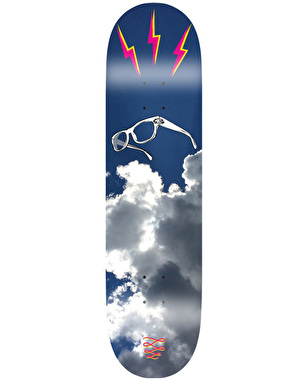 Descent Nerd's Ascent with Stiff Upper Lip Skateboard Deck - 8.1