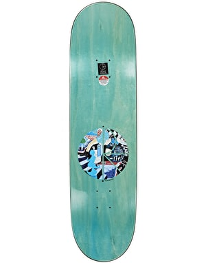 Polar Boserio Running Skateboard Deck - 8.5