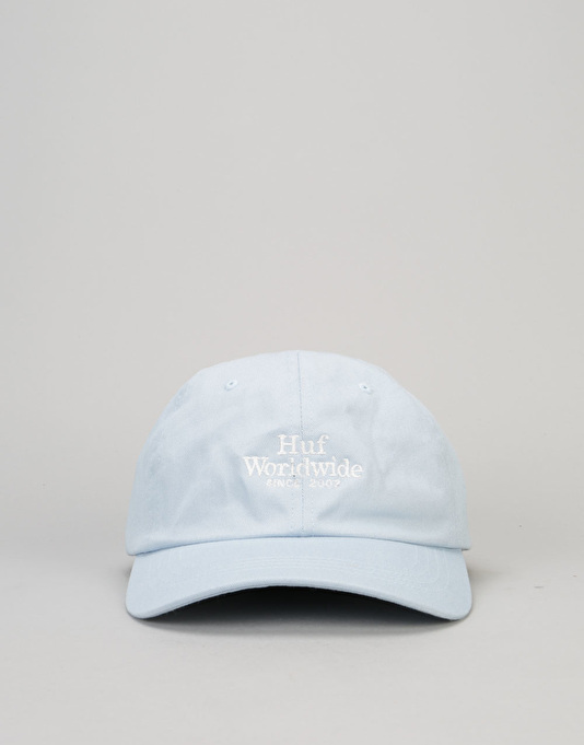 HUF Worldwide UV Curve Brim Cap - Light Blue
