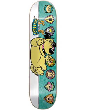 Almost x Hanna-Barbera Mullen Muttley Plaques Pro Deck - 8.125