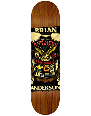 Anti Hero BA Flying Colours Pro Deck - 8.25