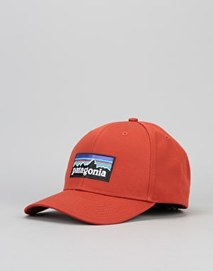 Patagonia P-6 Logo Roger That Cap - Roots Red