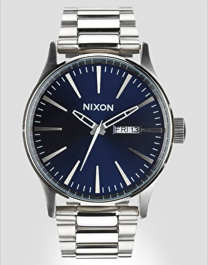 Nixon Sentry SS Watch - Blue/Sunray