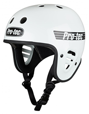 Pro-Tec Full Cut Helmet - Gloss White