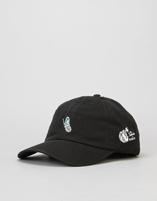 The Hundreds x Aaron Kai Cell Strapback Cap - Black