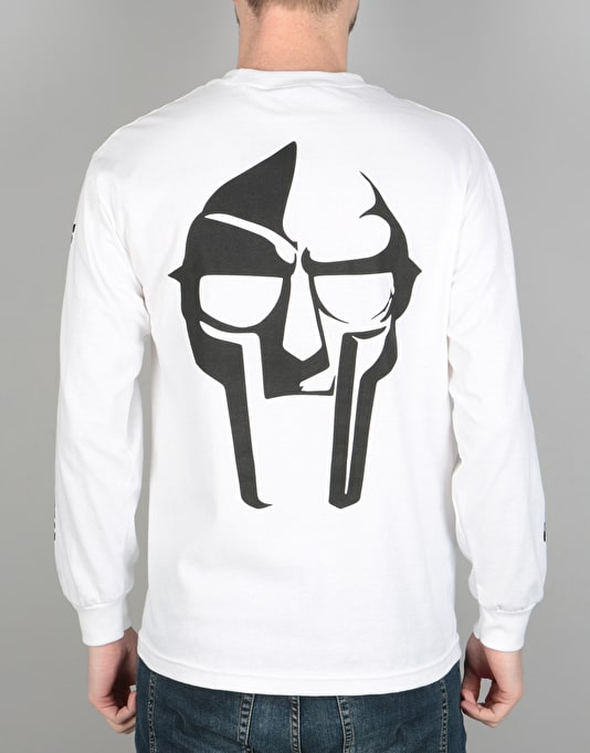 The Hundreds x MF Doom Mask L/S T-Shirt - White