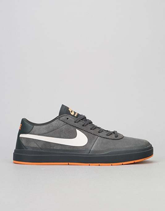47af133dbcad4e Nike SB Bruin Hyperfeel XT Skate Shoes - Anthracite White-Clay Orange