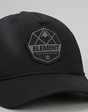 Element Serial Trucker Cap - Black