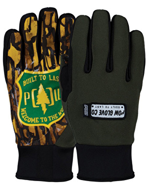 Pow All Day 2017 Snowboard Gloves - Welcome