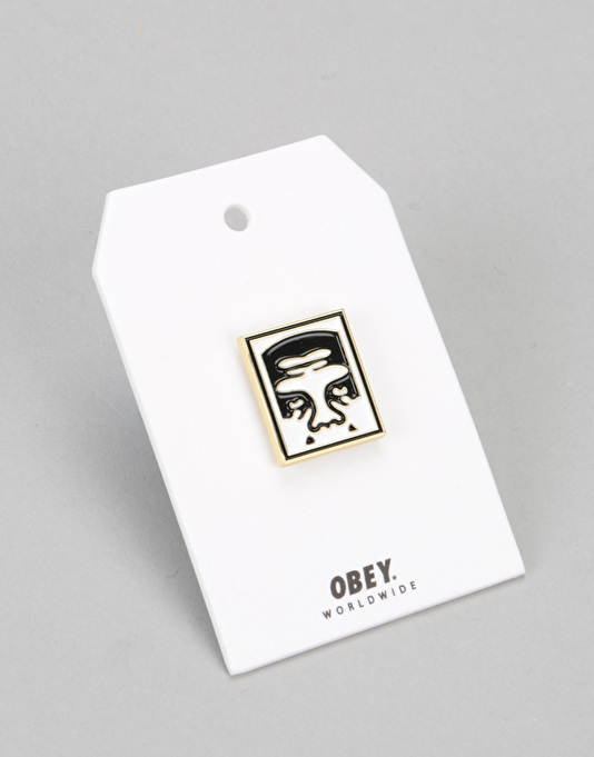 Obey Eighty Nine Pin - White