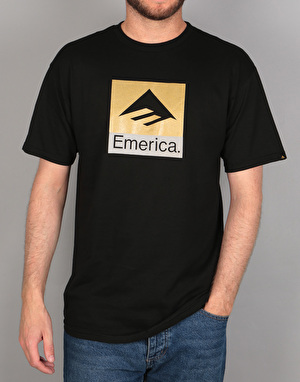 Emerica Combo T-Shirt - Black/Gold
