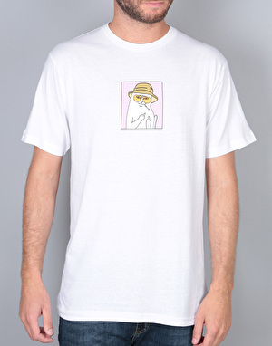 RIPNDIP Nermal S. Thompson T-Shirt - White