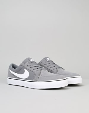Nike SB Satire II Skate Shoes - Cool Grey/White-Black