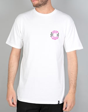 HUF Checks Circle T-Shirt - White