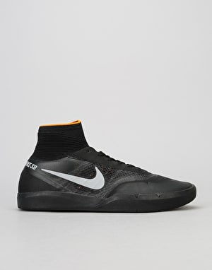 Nike SB Koston 3 XT Skate Shoes - Black/Black-Clay Orange