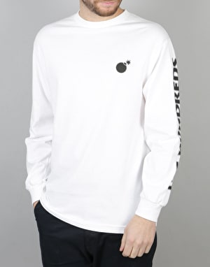 The Hundreds x Death Row Records L/S T-Shirt - White