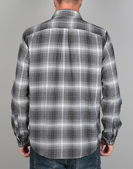 Levi's Skateboarding Riveter L/S Shirt - Black/White Plaid