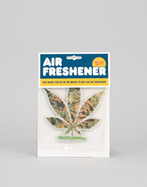 Skate Mental Air Freshener - Green Leaf