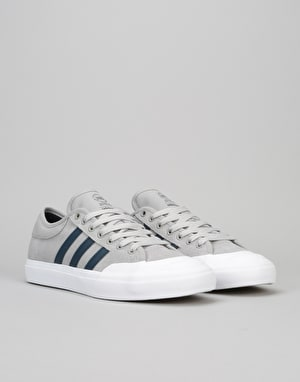 Adidas Matchcourt Skate Shoes - Solid Grey/Collegiate Navy/White