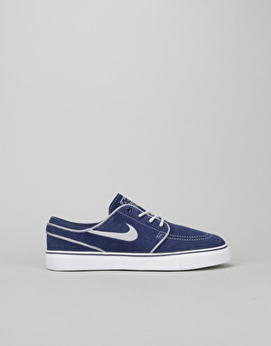 Nike SB Stefan Janoski Boys Skate Shoes - Binary Blue/Wolf Grey/White