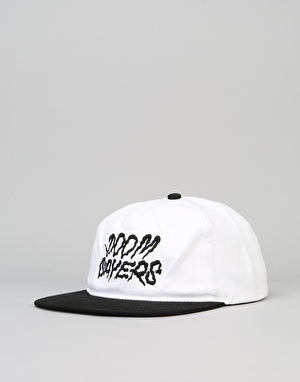 Doom Sayers Squiggles Snapback Cap - White/Black