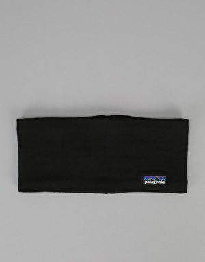 Patagonia Lined Knit Headband - Black