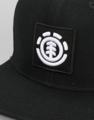 Element United Snapback Cap - Flint Black