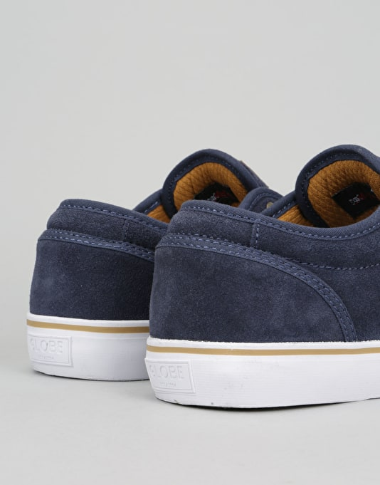 Globe Motley Skate Shoes - Navy Tan