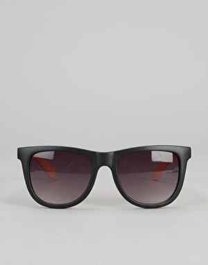 Santa Cruz Capitol Sunglasses - Custard/Black