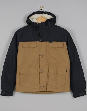 Globe Goodstock Thermal Boys Parka Jacket - Desert
