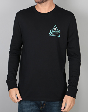 Element Ascent L/S T-Shirt - Flint Black