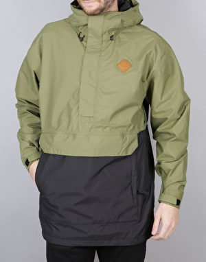 Thirty Two Meyers 2017 Snowboard Jacket - Olive
