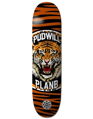 Plan B Pudwill Savages BLK ICE Pro Deck - 8