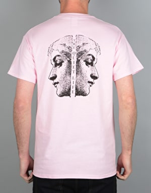 The Quiet Life Face Off T-Shirt - Pink