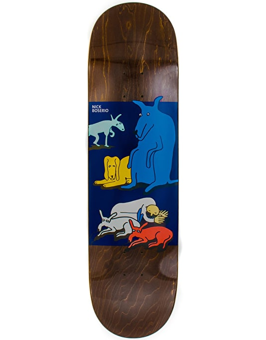 Polar Boserio All My Dogs Pro Deck - 8.5""